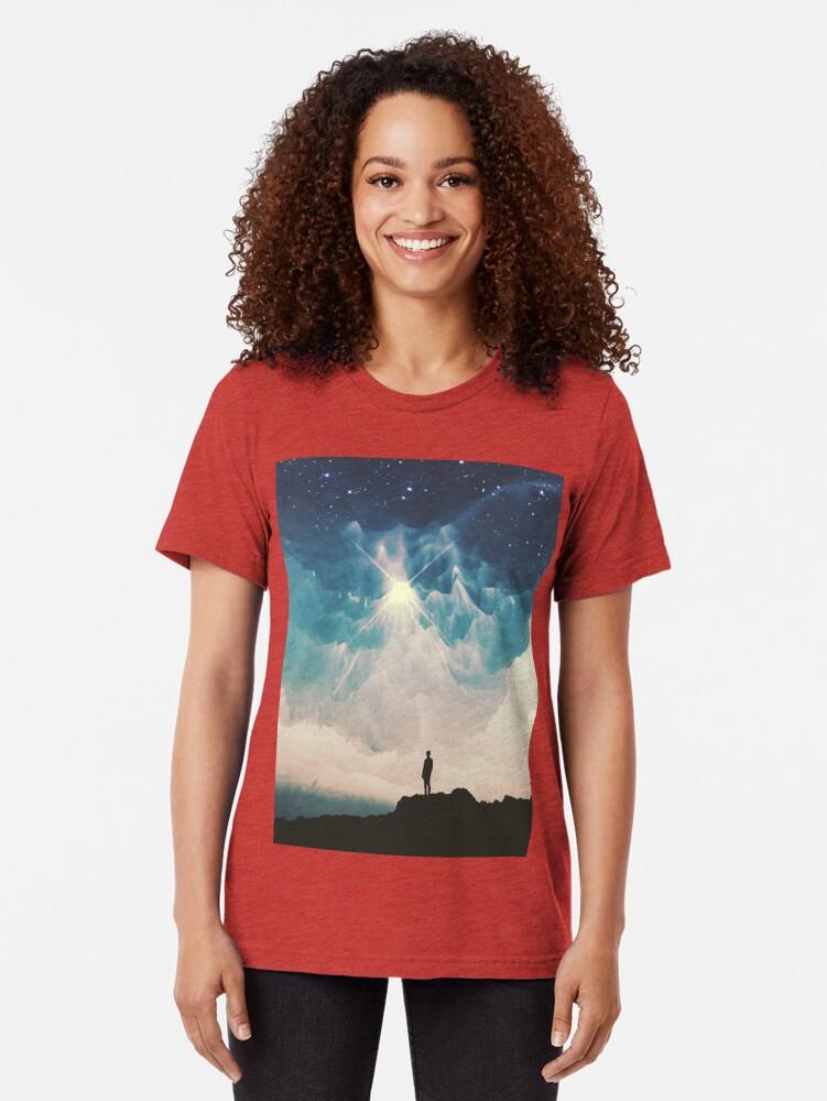 Alternate view of Stars Tri-blend T-Shirt