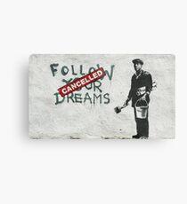 Banksy dreams Metal Print