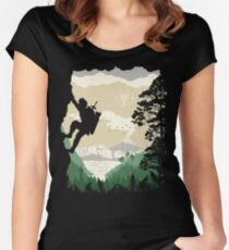 Breath of Adventure Women's Fitted Scoop T-Shirt