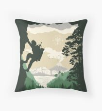 Breath of Adventure Throw Pillow