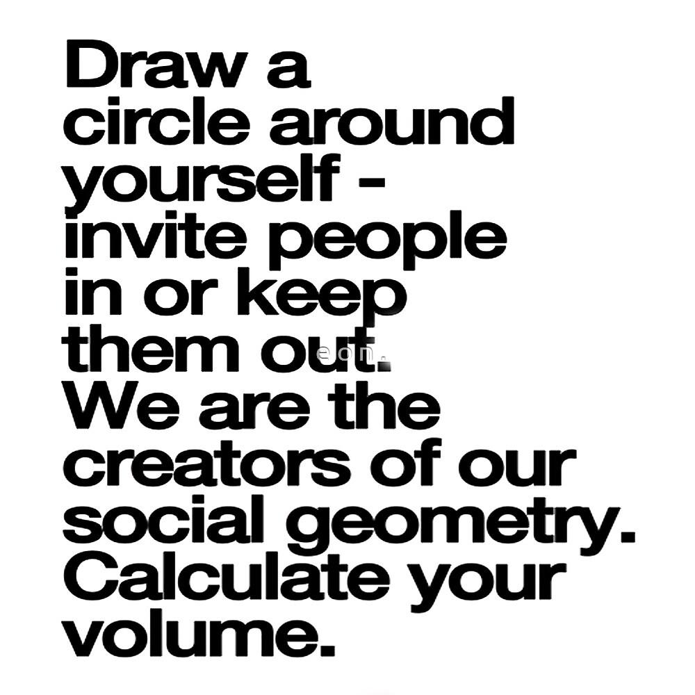 circle by e o n .