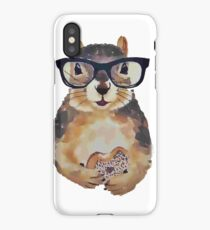 Doughnut Squirrel iPhone Case