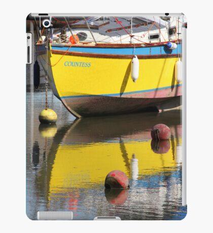 Yellow Boat iPad Case/Skin