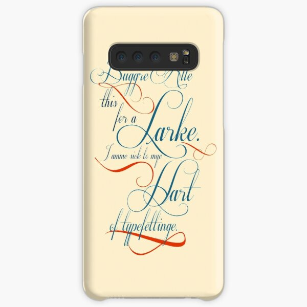 Buggre Alle This from Good Omens Samsung Galaxy Snap Case