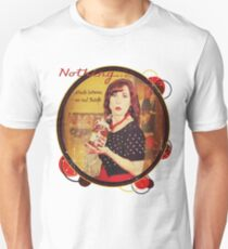 Nothing...stands between me and Nutella Unisex T-Shirt