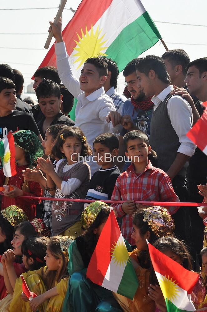 Spectators II - Newroz-Qustapa_Syrian Refugee Camp_Arbil-KRG- 21-3-2104 by ChuckBrown