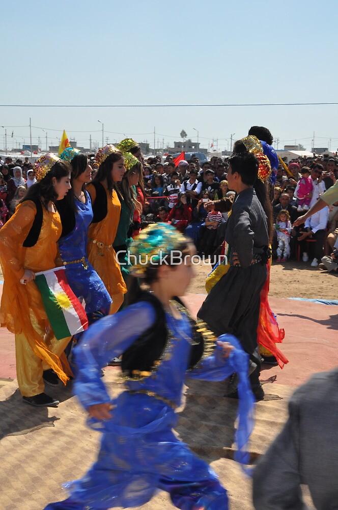 Danse - Newroz-Qustapa_Syrian Refugee Camp_Arbil-KRG- 21-3-2104 by ChuckBrown