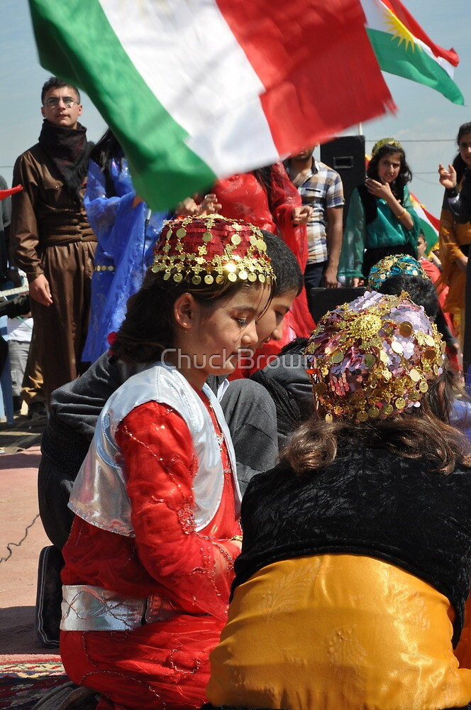 Child - Newroz-Qustapa_Syrian Refugee Camp_Arbil-KRG- 21-3-2104 by ChuckBrown