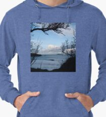 Natural Window - Harlyn Bay - Cornwall Lightweight Hoodie