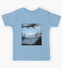 Natural Window - Harlyn Bay - Cornwall Kids Tee