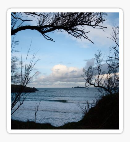 Natural Window - Harlyn Bay - Cornwall Sticker