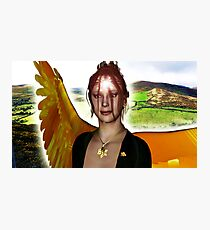 The Angel of Clare Photographic Print