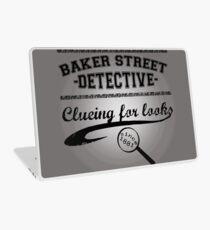 Baker Street Detective (Black) Laptop Skin