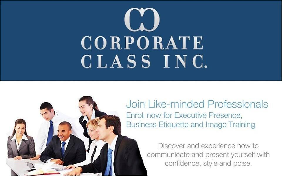 Etiquette Training Toronto by corporateclassi
