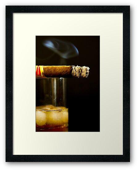 Scotch & Cigar by Splendiferous Images