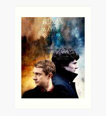 Holmes & Watson Art Print