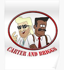 Carter and Briggs Poster