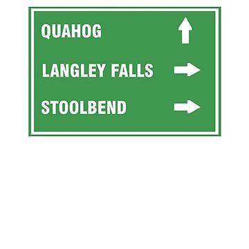 Quahog,LangleyFalls,Stoolbend by dasilvawolfgang