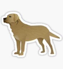 Dog Illustration - Labrador Sticker