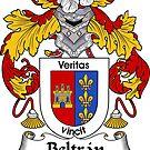 Beltran Coat of Arms/ Beltran Family Crest by William Martin
