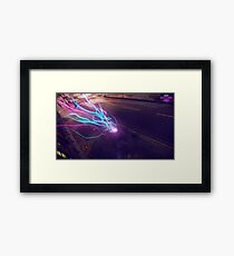 Infamous Second Son Neon Framed Print