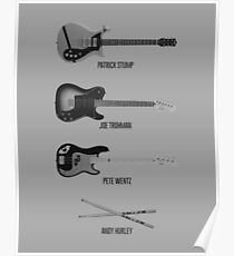 The Band's Instruments Poster