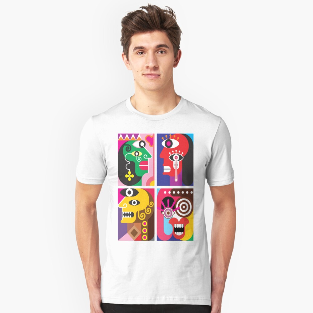 Abstracto 2 Unisex T-Shirt Front