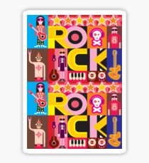 ROCK OUT! Sticker