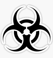 Hazmat Symbol Sticker