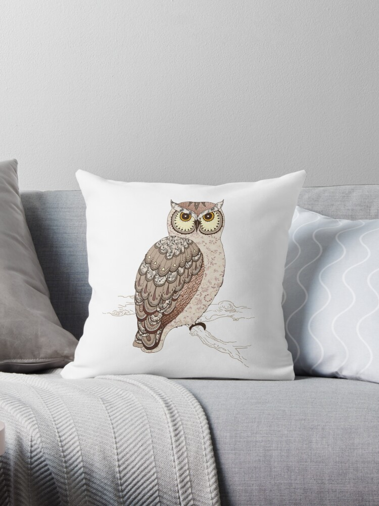 Wise Old Owl by hipsterspinster