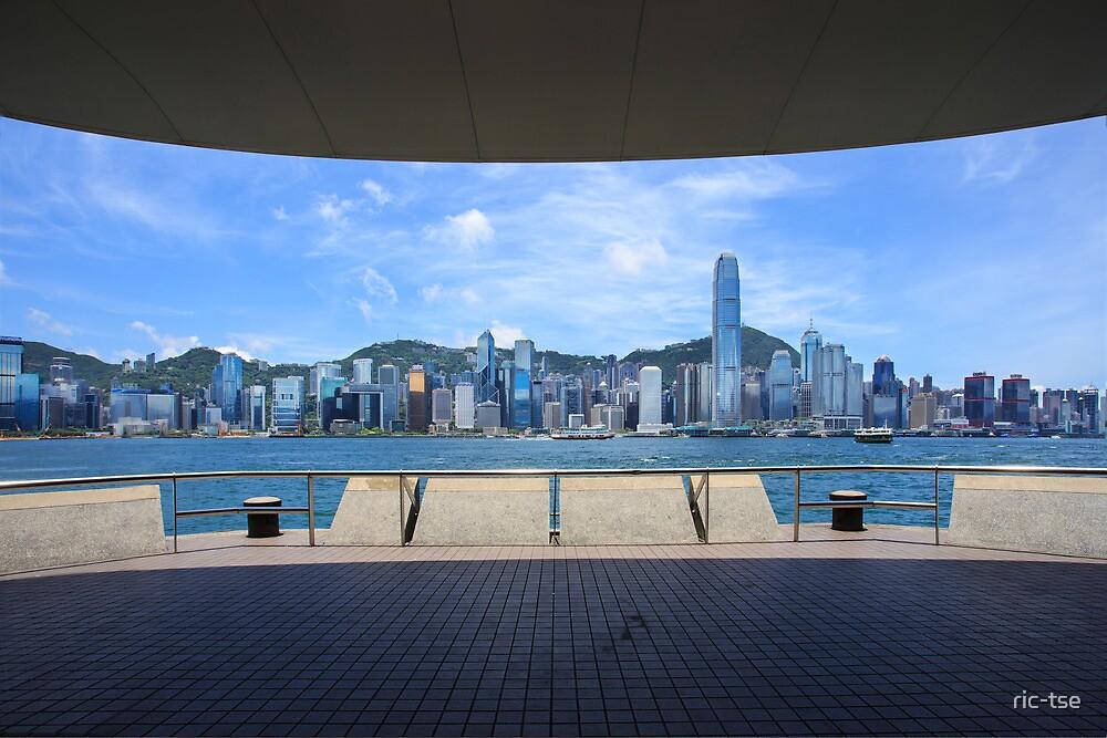 Hong Kong Victoria Harbor by ric-tse