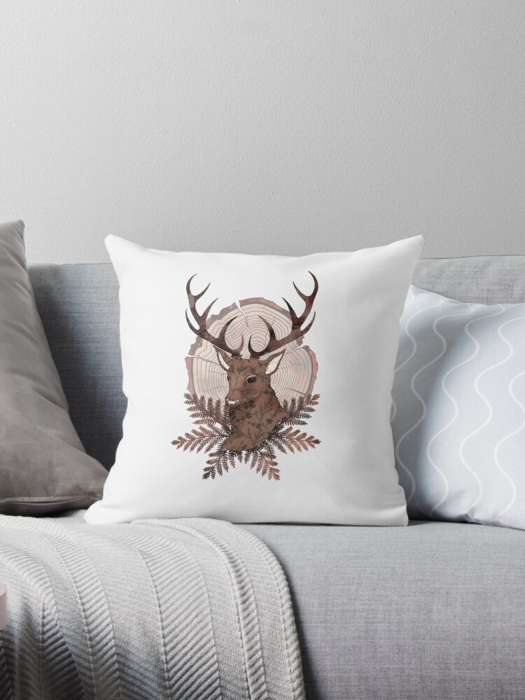 Monarch Stag Print by hipsterspinster