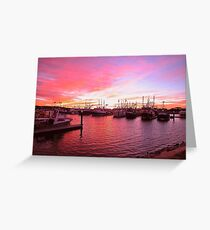 The fleets in Greeting Card