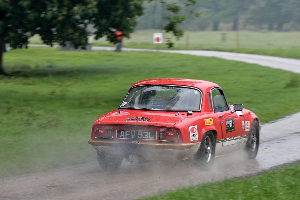 The Three Castles Welsh Trial 2014 - Lotus Elan Sprint by Three-Castles
