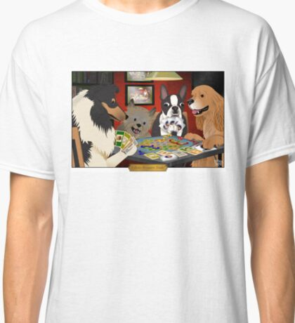 Dogs Playing Settlers of Catan Classic T-Shirt