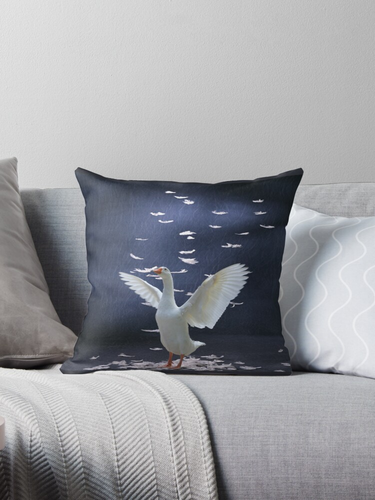 Goose Down Pillow Forsale by NewfieKeith