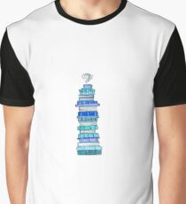 Cool Books Graphic T-Shirt