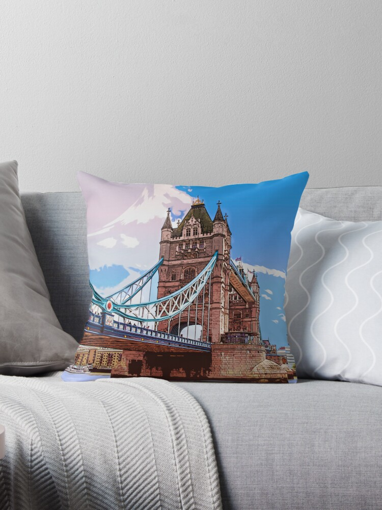 GTA London Baby Throw pillow by outlawalien