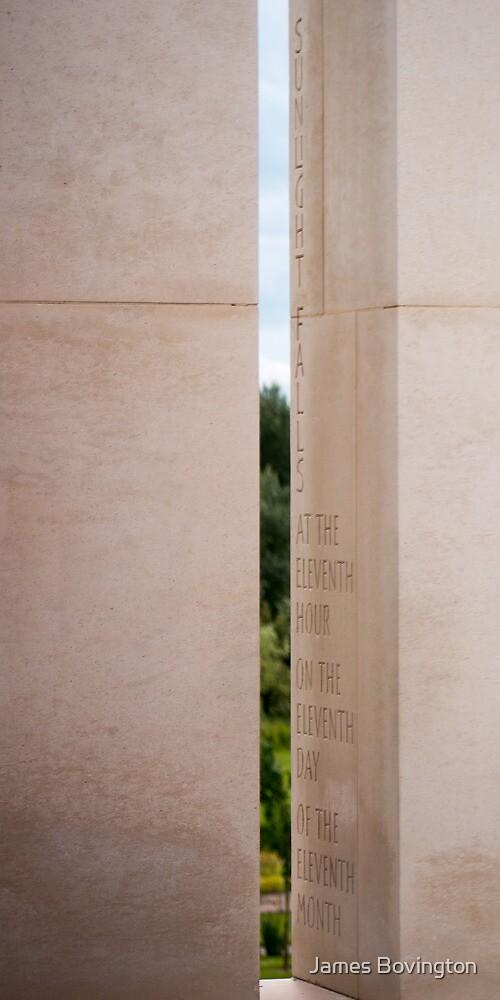 Remembrance Day Light by James Bovington