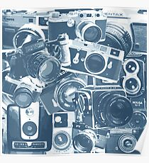 Classic Camera Collection Poster