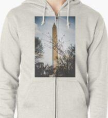 monumental Zipped Hoodie