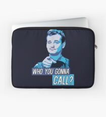 Who You Gonna Call? Ghostbusters! Laptop Sleeve