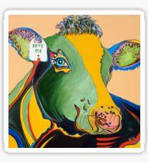 Activist Cow Sticker