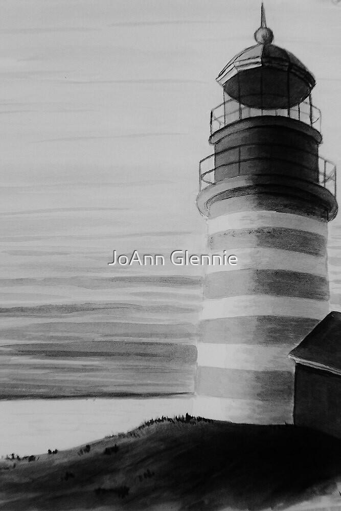 Lighthouse by JoAnn GLENNIE