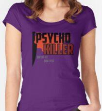 Psycho Killer - Talking Heads Women's Fitted Scoop T-Shirt