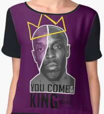 Omar Little - The Wire Women's Chiffon Top