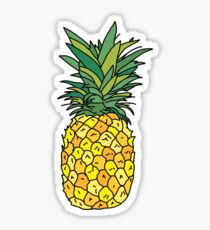 cute pineapple fruit Sticker