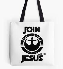 Join Jesus Tote Bag