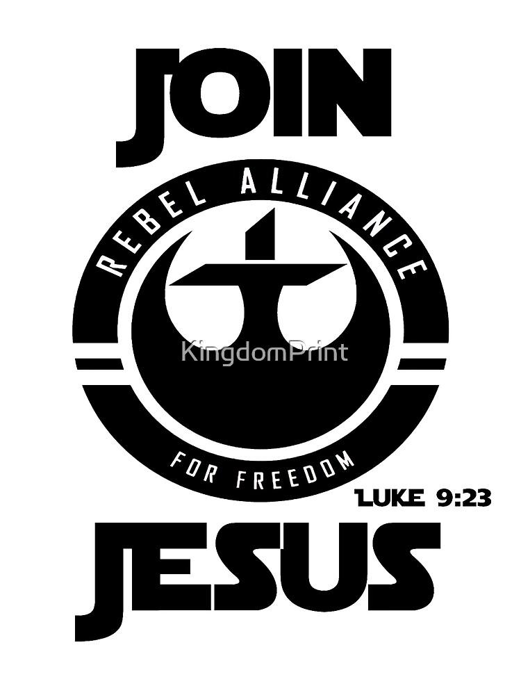 Komm zu Jesus von KingdomPrint