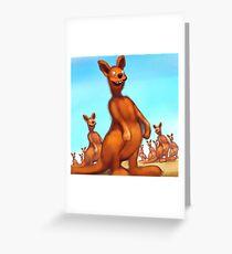Roos Greeting Card
